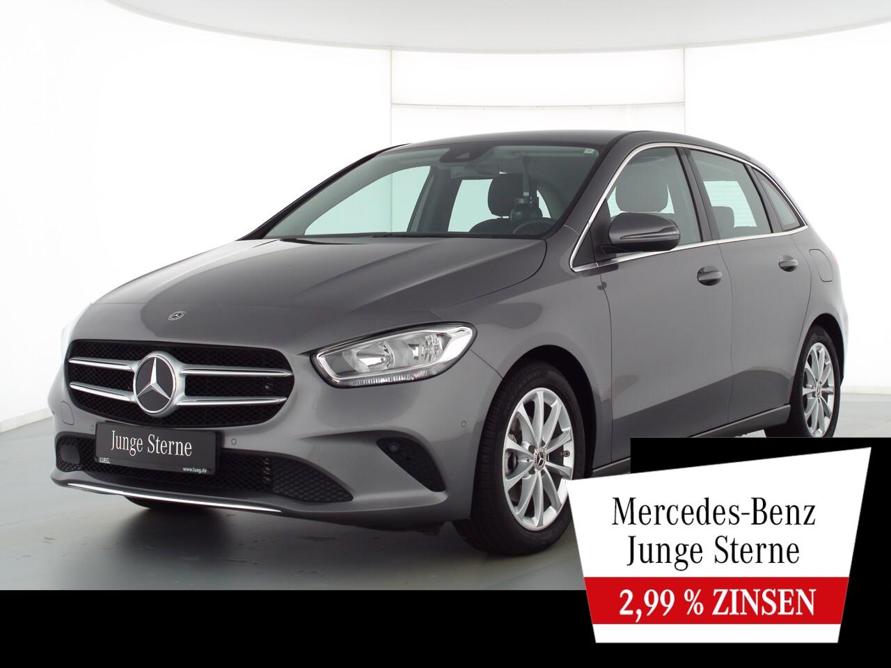 Mercedes-Benz B 180 Progressive+MBUX+NavPrem+EHeck+ParkAss+RFK, Jahr 2020, Benzin