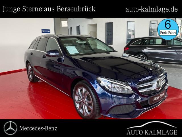 Mercedes-Benz C 300 T Avantgarde Drive-Pilot+Comand+AHK+Panora, Jahr 2018, Benzin