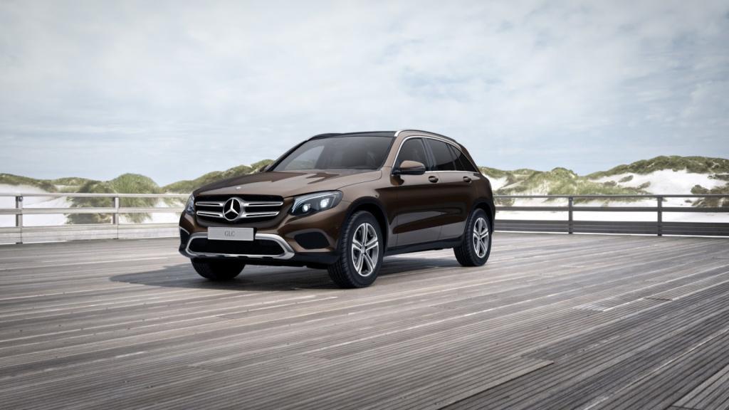 Mercedes-Benz GLC 220 d 4MATIC Exclusive/Pano.-Dach/LED/AHK, Jahr 2016, Diesel