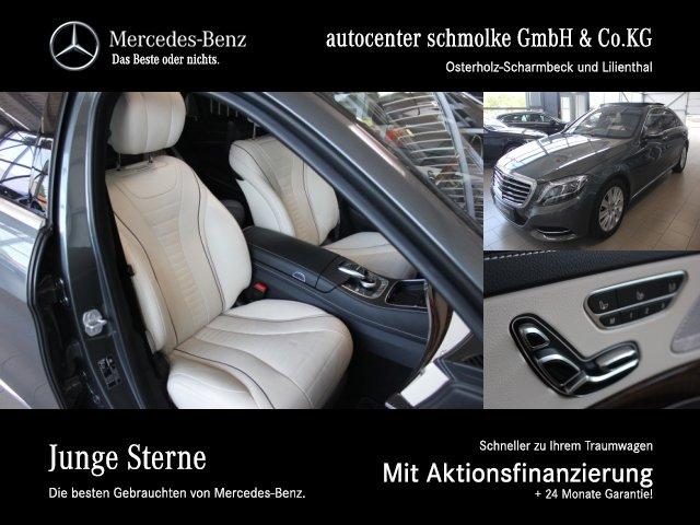Mercedes-Benz S 400 4-M LANG*AIRMATIC*ENTERTAINMENT FOND*NP151, Jahr 2016, Benzin
