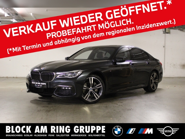 BMW 730d Limousine Laser HUD Navi DAB Klima GSD, Jahr 2018, Diesel