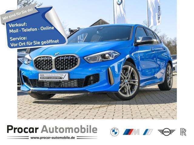 BMW M135i xDrive kein Mietwagen M Sportsitze HuD LED, Jahr 2019, Benzin