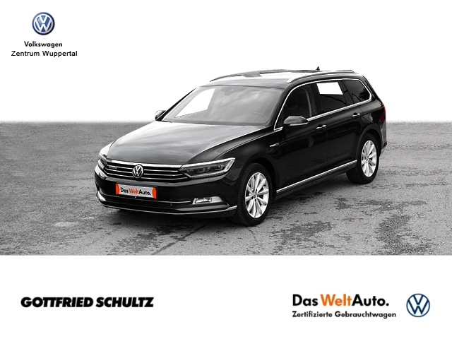 Volkswagen Passat Var 2 0 TDI Highline DSG 4M LED NAVI AHK SHZ PDC LM ZV, Jahr 2018, Diesel