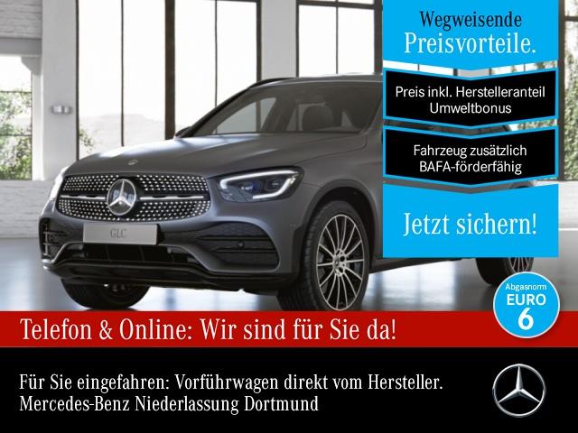 Mercedes-Benz GLC 300 de 4M AMG+Night+AHK+MultiBeam+Kamera+Spur, Jahr 2021, Hybrid_Diesel