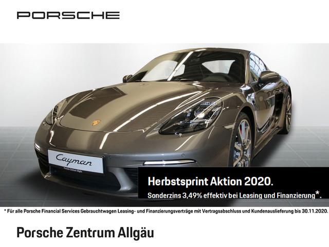 Porsche 718 Cayman S LED NAV DAB KAM ALU PDC XEN KLIMA, Jahr 2020, Benzin