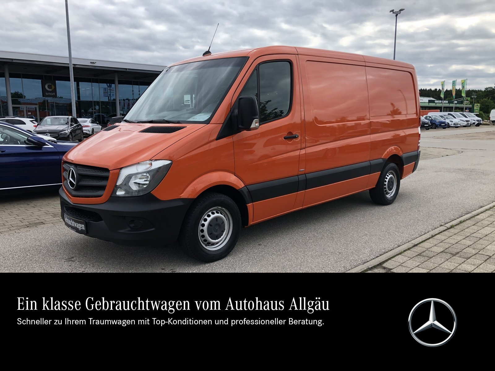 Mercedes-Benz Sprinter 316 BT Kasten Standard AHK2,8t EURO6, Jahr 2016, Diesel