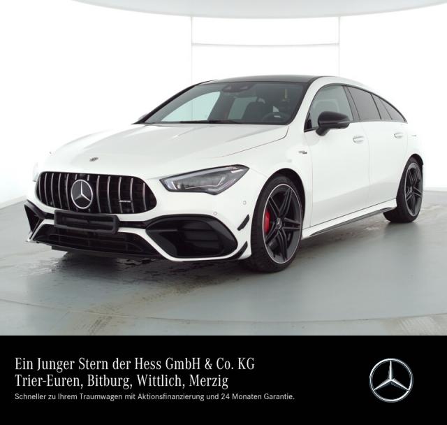 Mercedes-Benz CLA 45 S 4M SB Performance Aero Sound Night Perf, Jahr 2020, Benzin