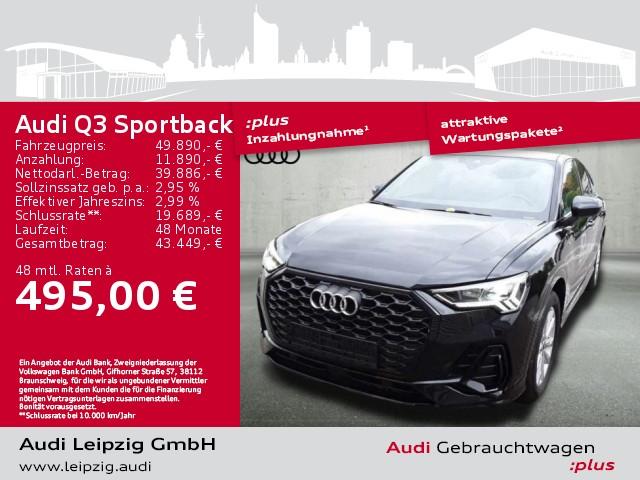 Audi Q3 Sportback 35 TFSI S line S-tr. *Pano*Standhzg*, Jahr 2020, Benzin