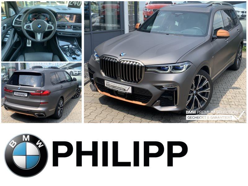 BMW X7 M50d INDIVIDUAL Night V.Laser B&W Sky Massage, Jahr 2019, Diesel