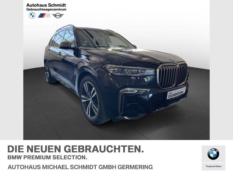 BMW X7 M50d Sky Lounge*AHK*Standheizung*Laser*Harman Kardon*, Jahr 2020, Diesel