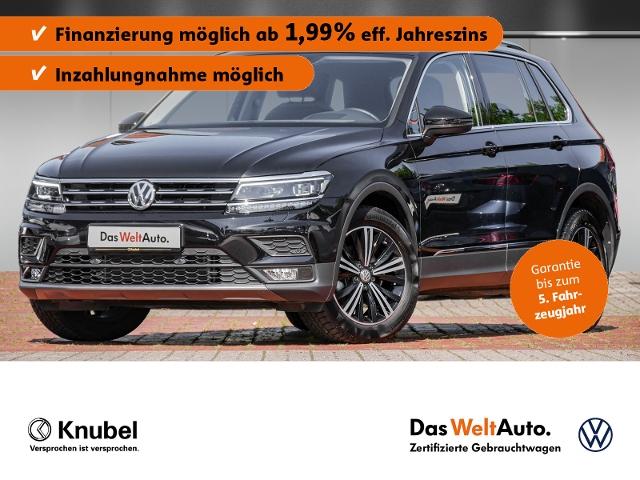 Volkswagen Tiguan Comfortline 1.5 TSI Fahrass+ EasyO. Pano, Jahr 2019, Benzin