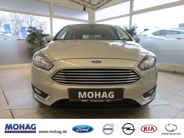 Ford Focus Turnier Titanium 1.0l *Navi-PDC-AHK-Klima* - Euro 6 -, Jahr 2017, Benzin