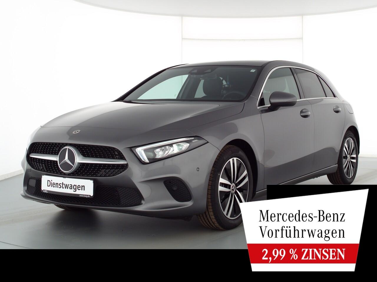 Mercedes-Benz A 180 PROGRESSIVE+PANO+AHK+TOTW+MBUX-HIGH+KAMERA, Jahr 2021, Benzin