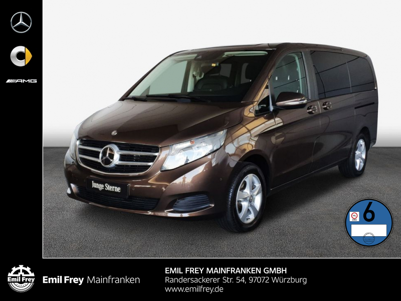 Mercedes-Benz V 220 4 Matic,Navi,Distronic,Audio 20,AHK, Jahr 2017, Diesel