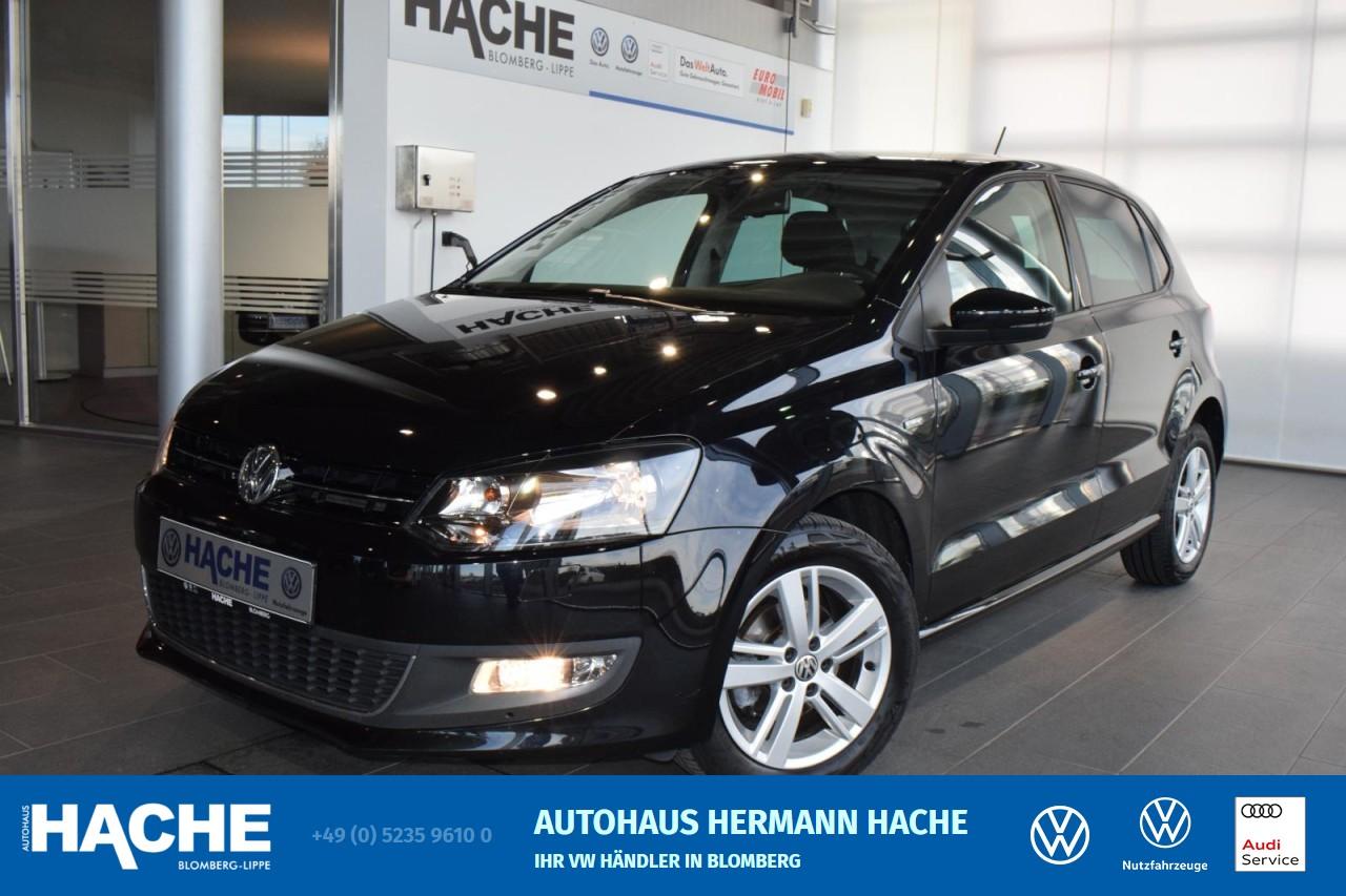 Volkswagen Polo Life 1.6 TDI SHZ TEMPOMAT PDC Klima, Jahr 2013, Diesel