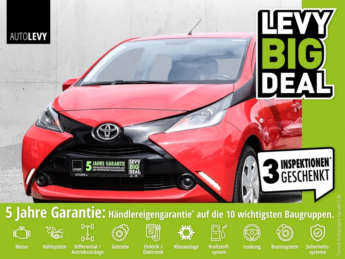 Toyota AYGO X-PLAY *KLIMA*TEMPOMAT*BLUETOOTH*ALLWETTER*, Jahr 2017, Benzin
