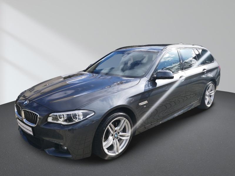 BMW 528i Touring Aut. M-Sportpaket Navi Professional Hifi LED Dynamische Dämpfer Control Alarm PDC, Jahr 2016, Benzin
