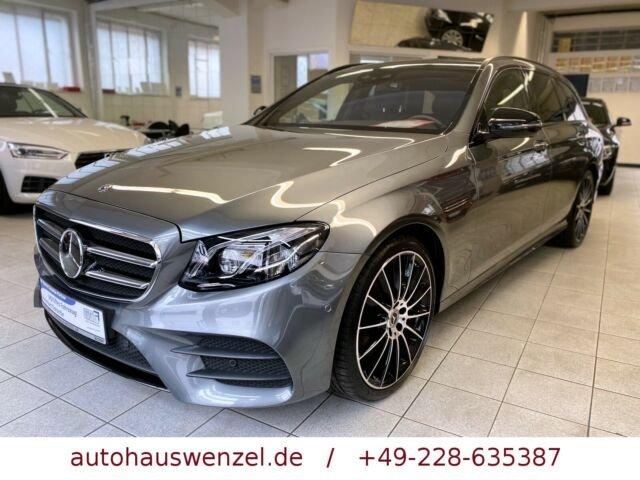 Mercedes-Benz E 400 T 4Matic AMG Line LEDER PANORAMA STANDHEIZ, Jahr 2017, Benzin