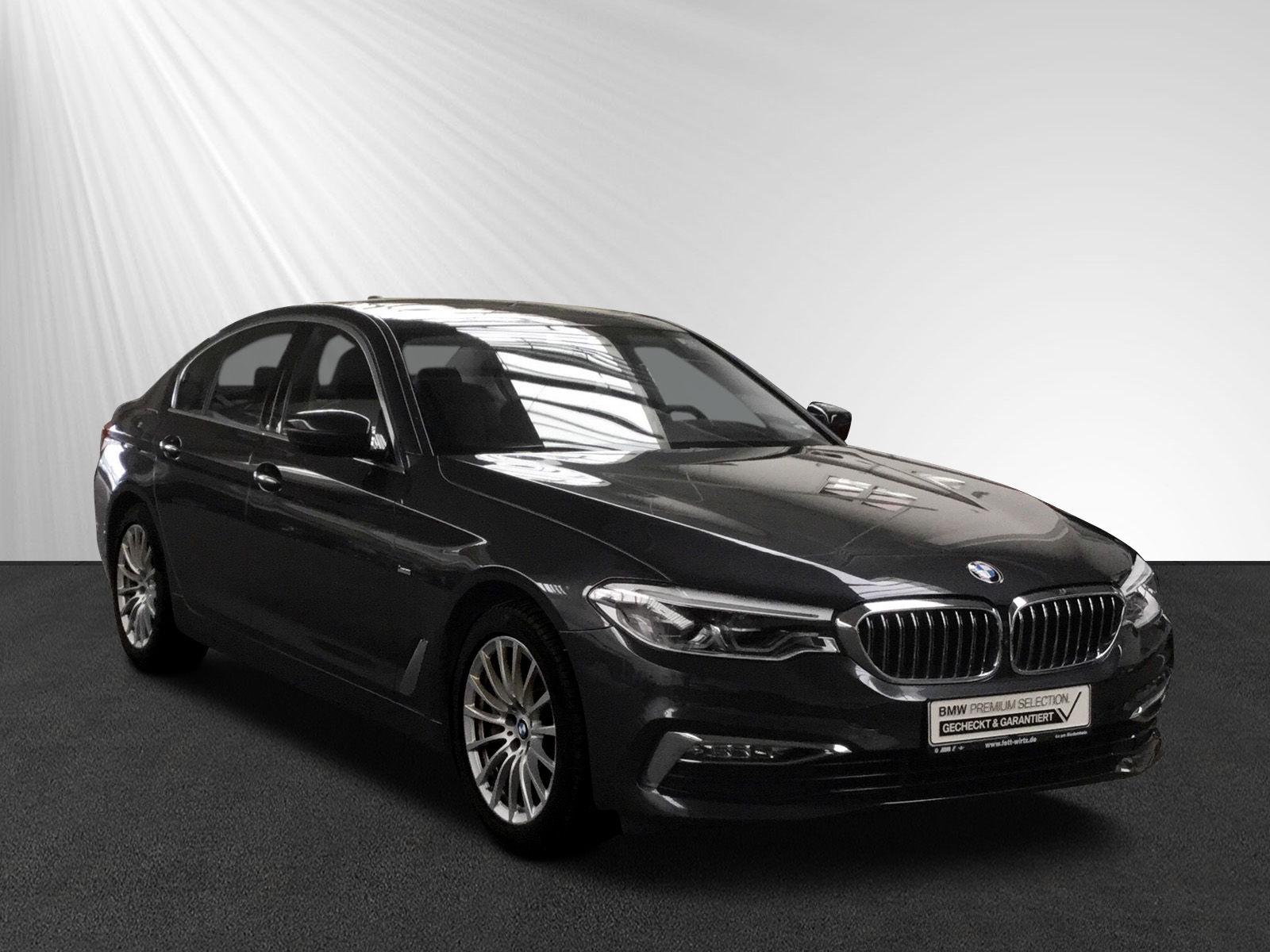 BMW 540i Luxury AHK Komforts.-+Lüft GSD HUD DA PA+, Jahr 2018, petrol