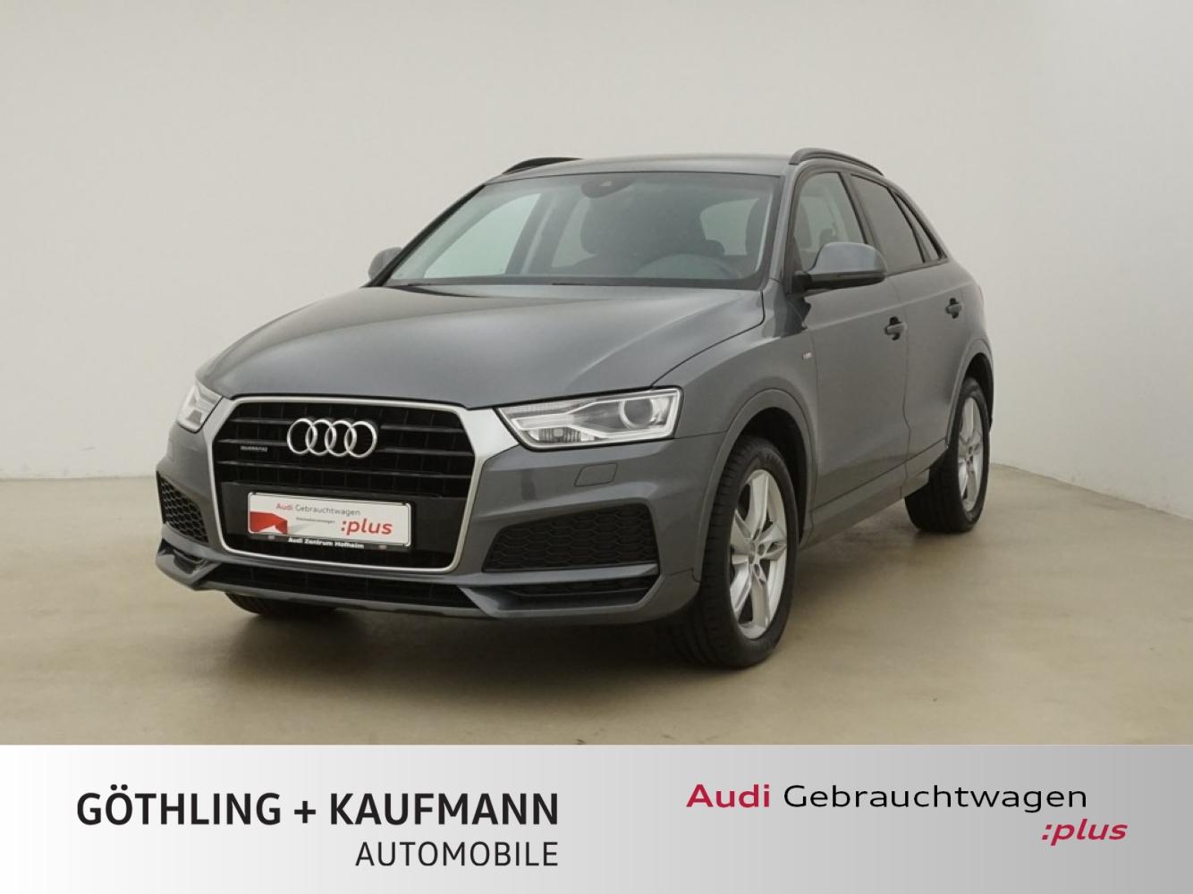 Audi Q3 2.0 TDI qu S line S tro. 110kW*Bose*Xenon+*Co, Jahr 2017, Diesel