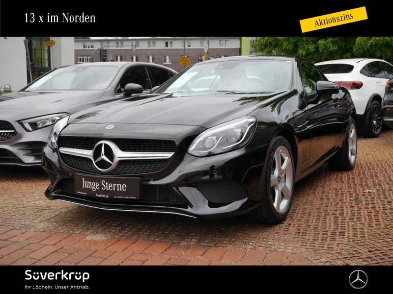 Mercedes-Benz SLC 200 PANORAMA TOTWINKEL AIRSCARF PARKTRONIC, Jahr 2020, Benzin