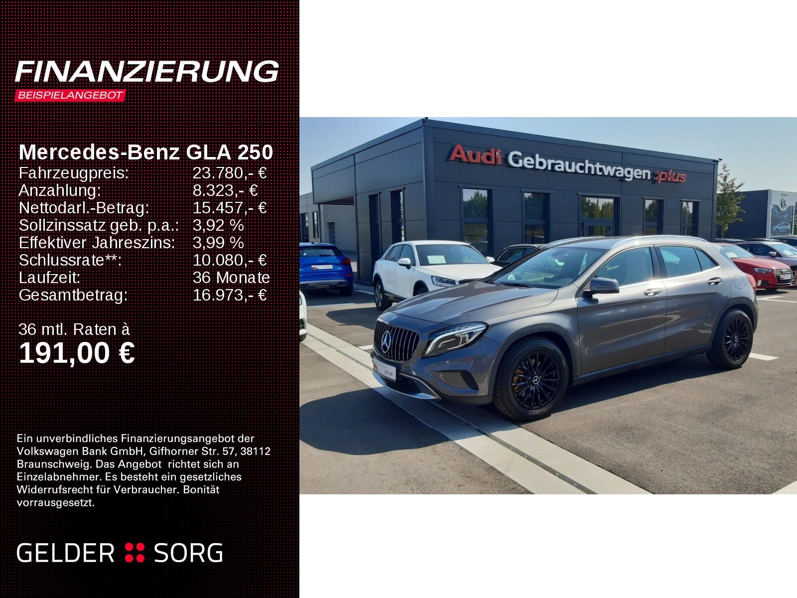 Mercedes-Benz GLA 250 Urban Automatik *Gar Xenon Navi, Jahr 2014, Benzin