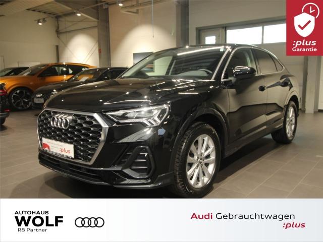 Audi Q3 Sportback 35 TFSI LED Navi Keyless SHZ PDC+, Jahr 2019, Benzin