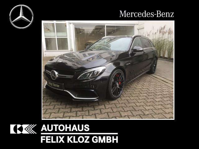 Mercedes-Benz C 63 S AMG T DISTRONIC COMAND Drivers-Package, Jahr 2017, Benzin