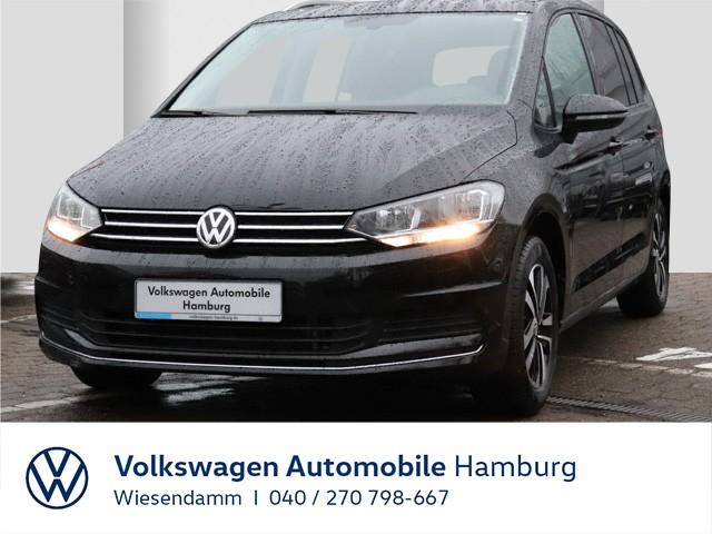 Volkswagen Touran 2.0 TDI United 7-Sitze AHK anklappbar Klimaautomatik Navi EGD LM, Jahr 2020, Diesel