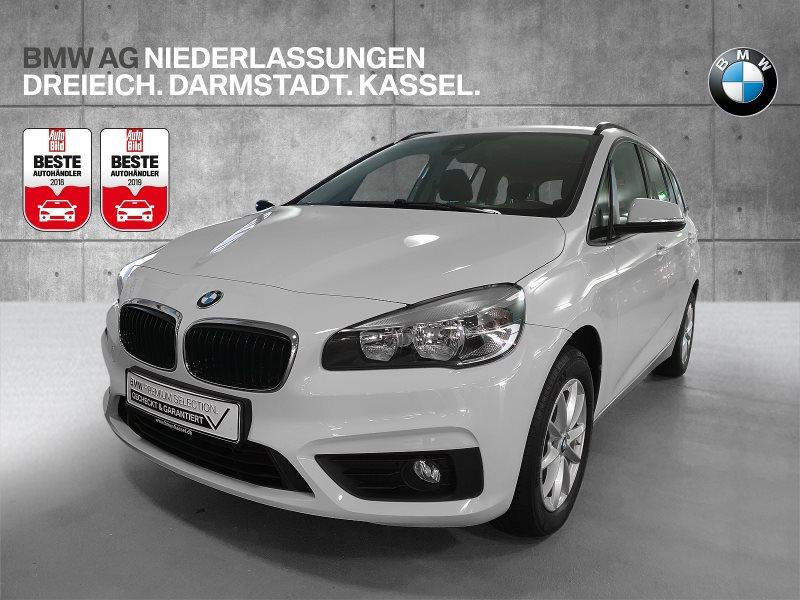 BMW 216 Gran Tourer i Advantage 3.Sitzreihe Tempomat, Jahr 2017, Benzin