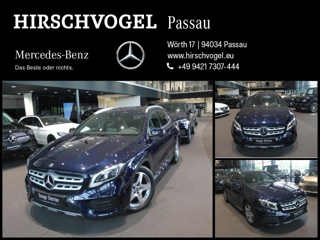 Mercedes-Benz GLA 220 d AMG-Line+Navi+LED+Kam+PDC+SHZ+7G-DCT, Jahr 2017, Diesel