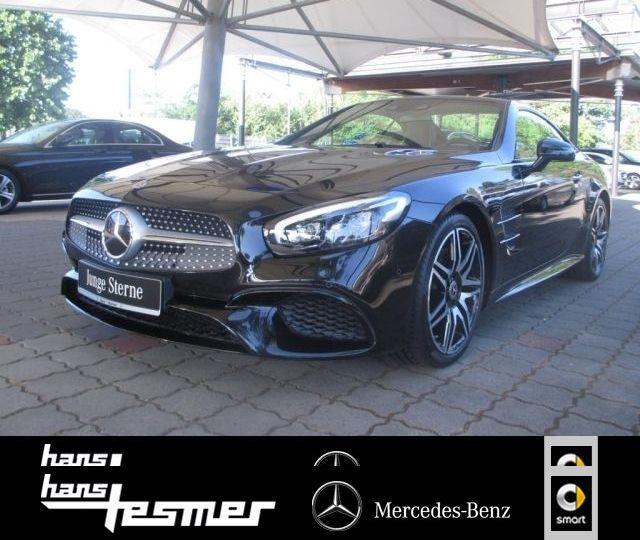 Mercedes-Benz SL 400 AMG-Line+Night+Massage+NP. 125.700,-, Jahr 2017, petrol