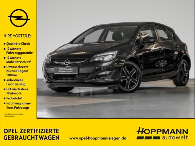 Opel Astra J Edition 1.6 Multif.Lenkrad NR Klima Temp PDC CD MP3 ESP Spieg. beheizbar Seitenairb., Jahr 2014, Benzin