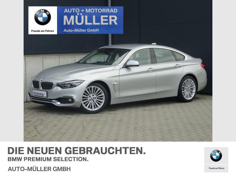 BMW 430d Gran Coupé A Luxury Line Head-Up LED WLAN, Jahr 2017, Diesel