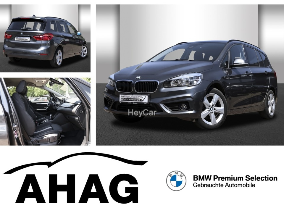 BMW 218 Gran Tourer Advantage Aut. Klimaaut. PDC, Jahr 2017, Benzin