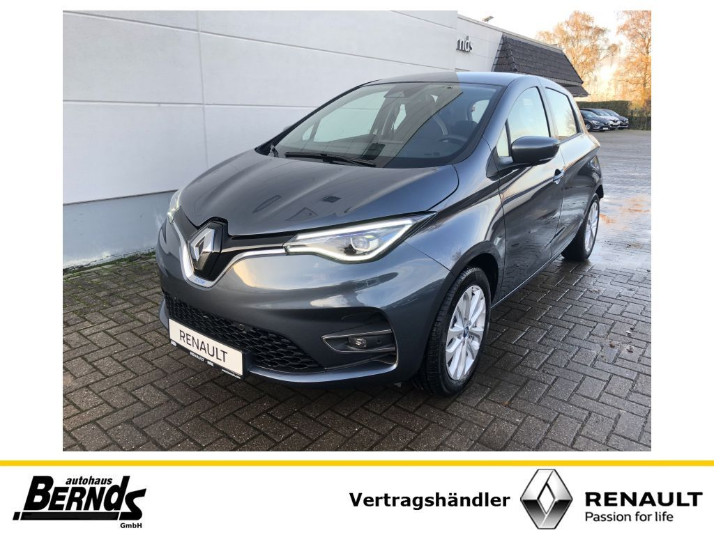 Renault ZOE (mit BATTERIEMIETE) Z.E. 50 EXPERIENCE NAV SHZ, Jahr 2020, Elektro