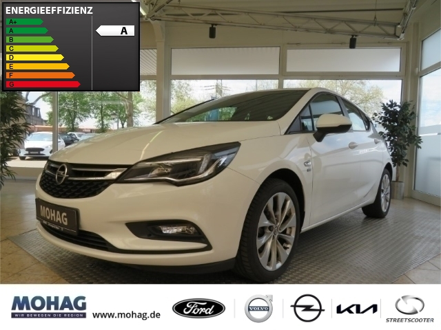 Opel Astra 120 Jahre 1.0l *ParkPilot-Sitzh-Tempomat* -Euro6-, Jahr 2019, Benzin