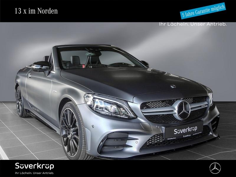 mercedes-benz c 43 amg 4m cabriolet night burmester atp amg-tp, jahr 2021, benzin