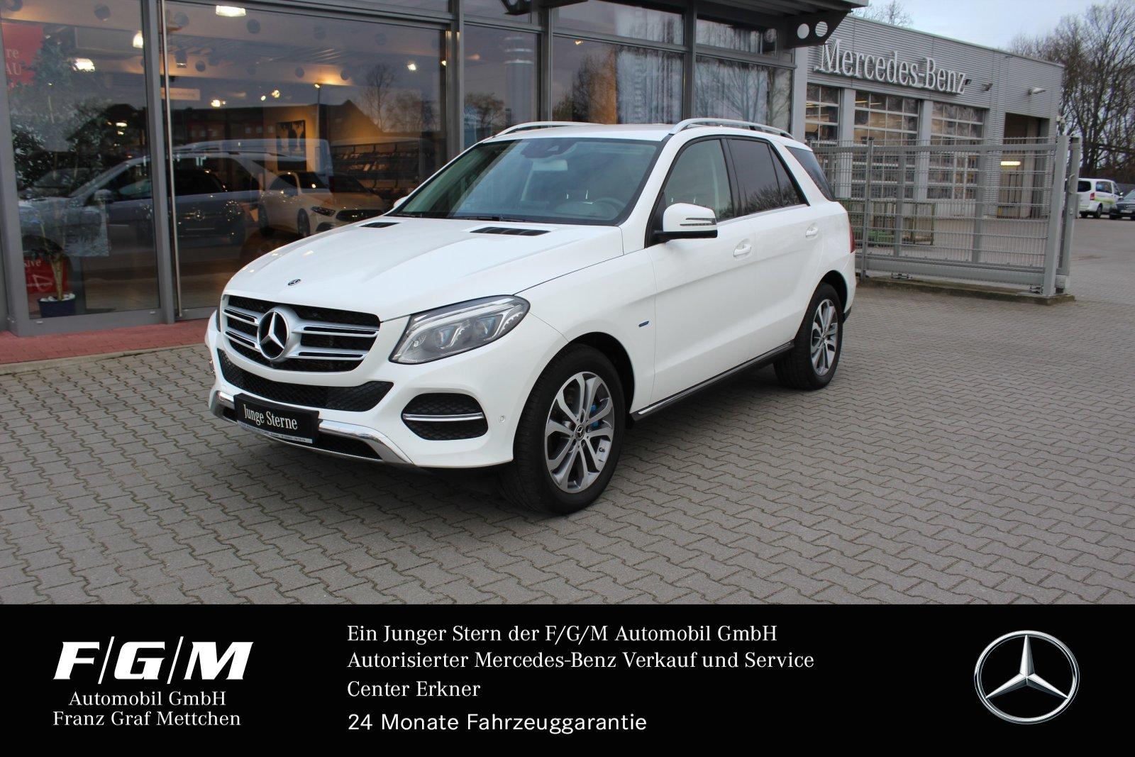 Mercedes-Benz GLE 500 e 4M Comand/ILS/360°/HUD/Airmatic/Memory, Jahr 2017, Hybrid