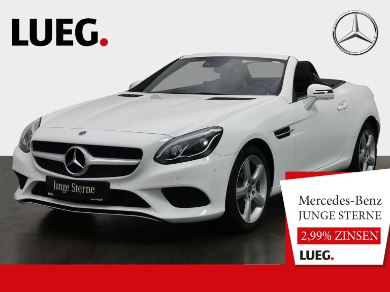 Mercedes-Benz SLC 180 Navi+Pano+LED-ILS+AIRSCARF+Totw+SHZ+RFK+, Jahr 2019, Benzin