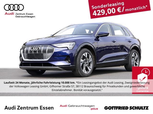 Audi e-tron 50 quattro advanced LED LEDER NAV PLUS PANO RÜFAHR SHZ FSE MUFU, Jahr 2020, Elektro