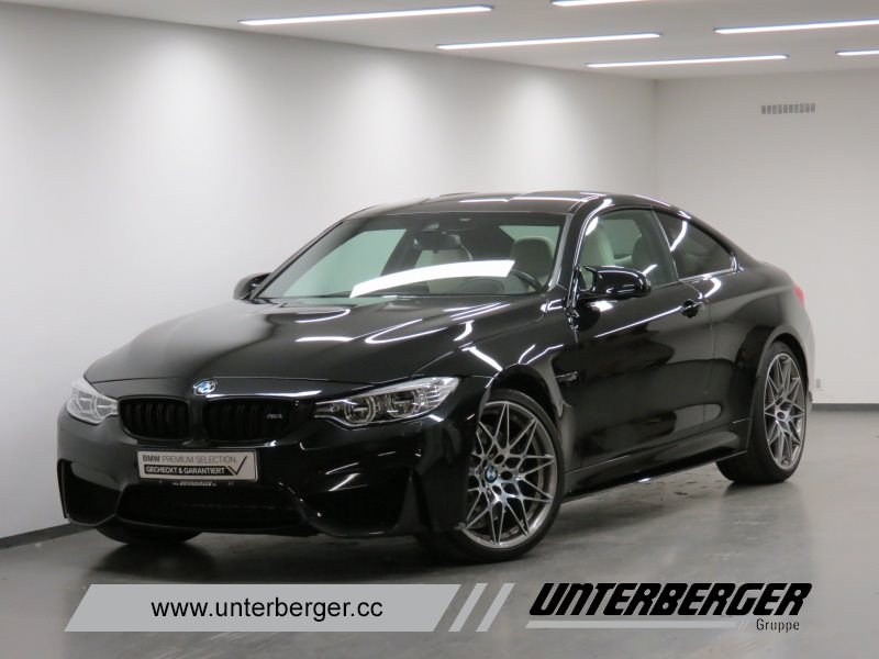BMW M4 Coupé M Competition Head-Up HK HiFi DAB LED, Jahr 2016, petrol