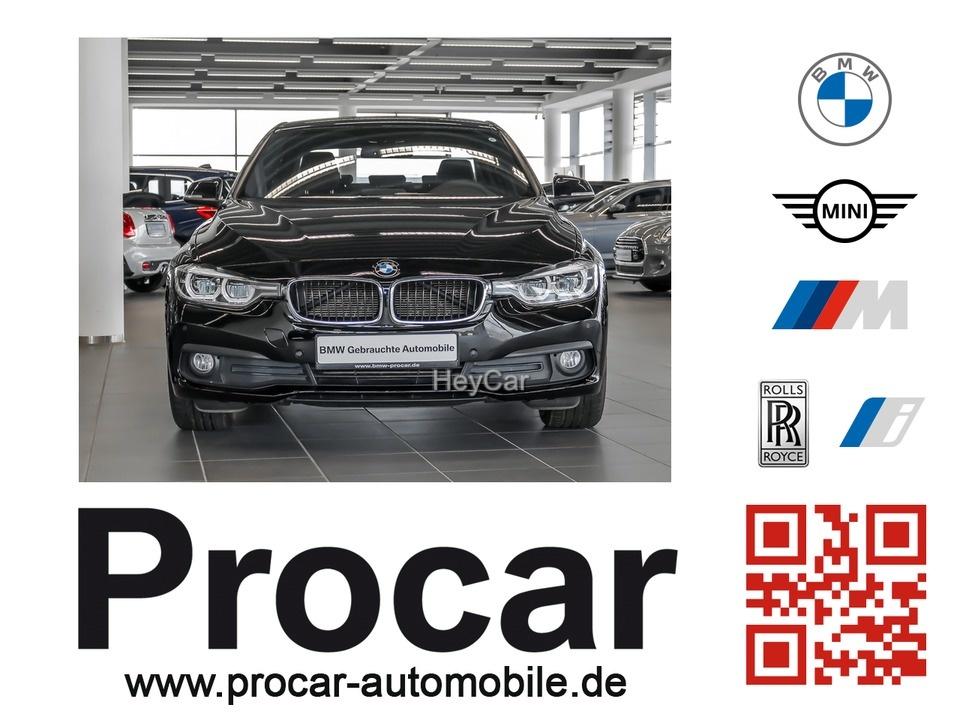 BMW 318d Limousine Aut. Navi LED PDC Komfortzugang, Jahr 2016, Diesel