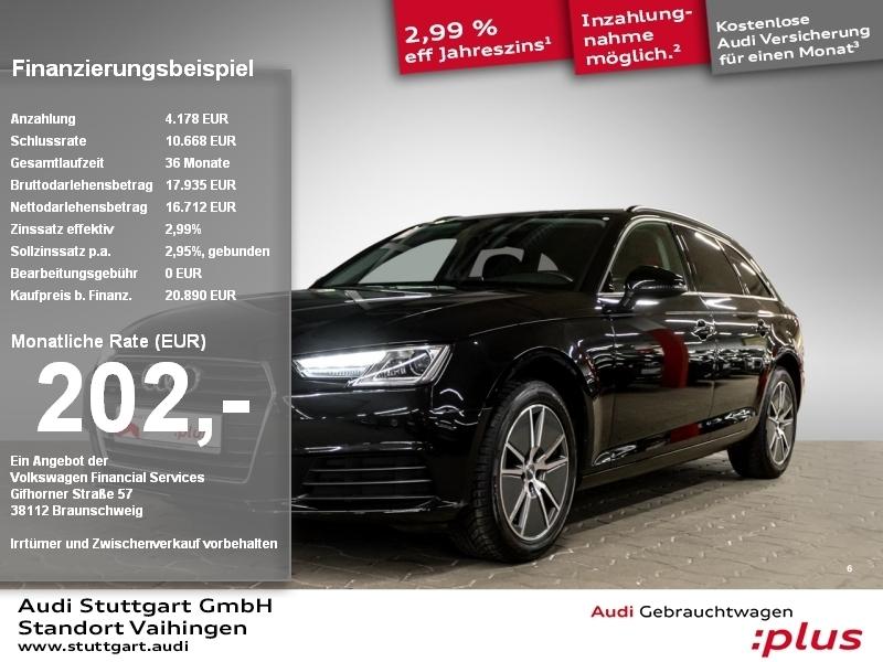 Audi A4 Avant 2.0 TDI Xenon Navi virtCo Sitzheizung, Jahr 2017, Diesel