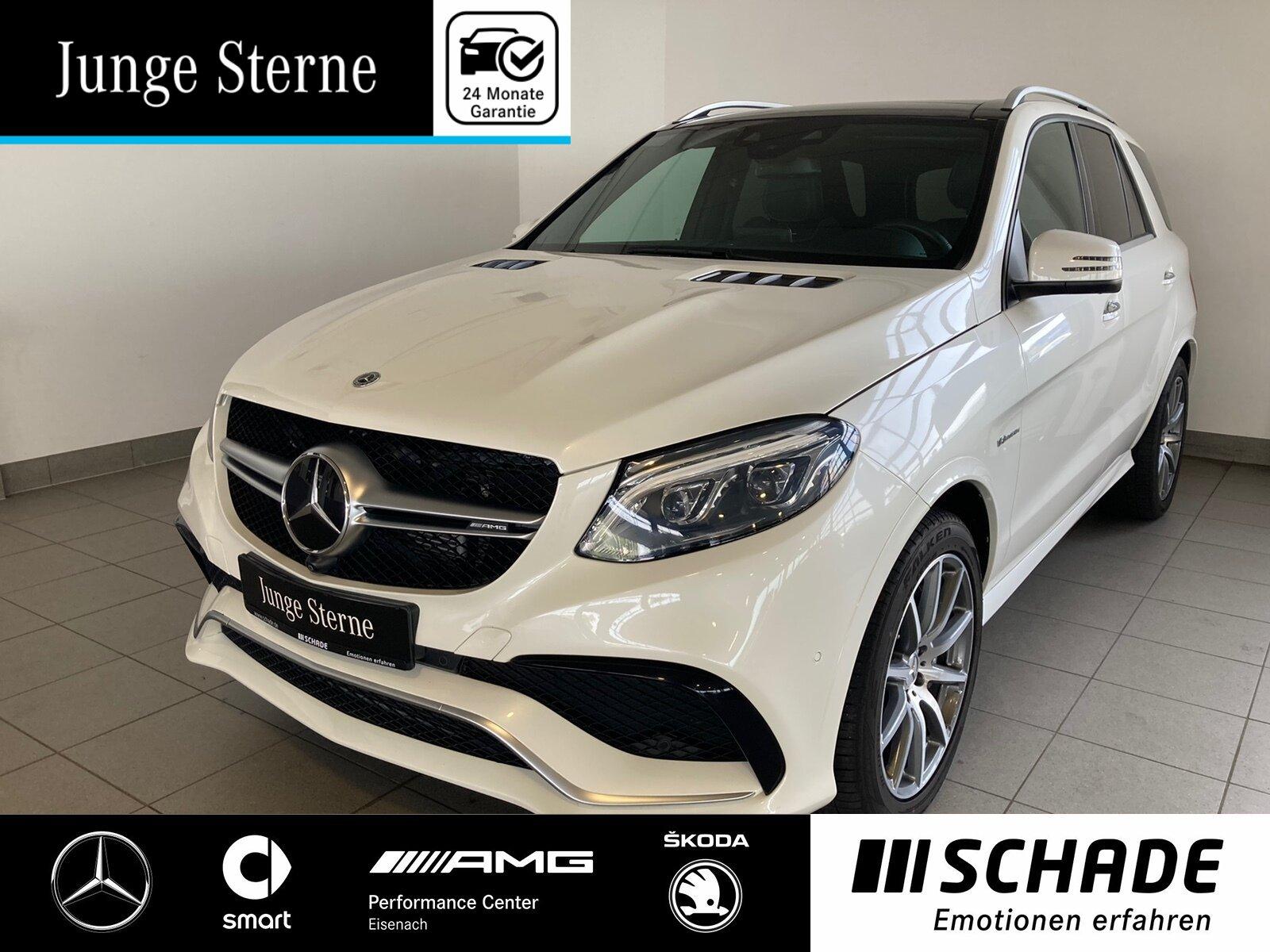 Mercedes-Benz GLE 63 AMG 4M Distronic*AHK*360°K*Pano*Easy-Pack, Jahr 2017, Benzin