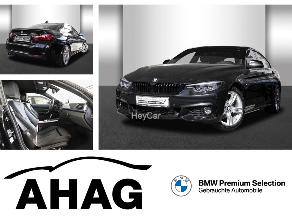 BMW 418 Gran Coupe D Aut. M Sport LED 368Euro Leasing, Jahr 2020, Diesel