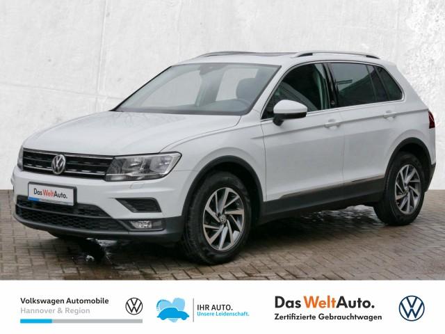 Volkswagen Tiguan 2.0 TDI DPF Sound Navi Pano Klima ACC PDC Sitzhz, Jahr 2017, Diesel