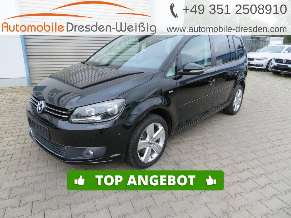 Volkswagen Touran 1.4 TSI DSG Life*Panorama*17 Zoll*, Jahr 2014, Benzin