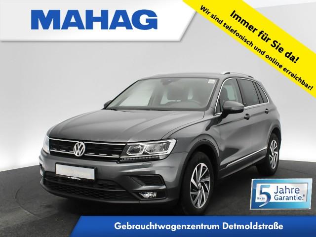 Volkswagen Tiguan 1.4 TSI SOUND Navi LED AppConnect ParkPilot FahrerAssist 17Zoll 6-Gang, Jahr 2017, Benzin