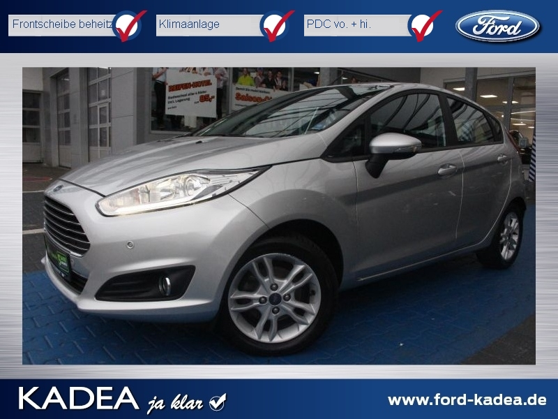 Ford Fiesta 1.0 SYNC Bluetooth|CD|PDC|Klima|USB|NSW, Jahr 2015, Benzin